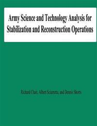 Army Science and Technology Analysis for Stabilization and Reconstruction Operations