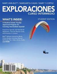 Student Activities Manual for Blitt/Casas/Copple's Exploraciones Curso Intermedio