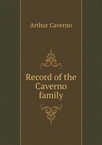 Record of the Caverno Family