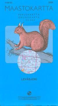 Maastokartta 1144 03 Levasjoki 1 20000 Suomi Muu 9789514871801