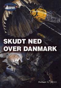 Skudt ned over Danmark