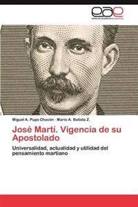 Jose Marti. Vigencia de Su Apostolado