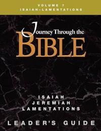 Jttb Isaiah Jeremiah Lamentations Leader Guide