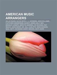 American music arrangers