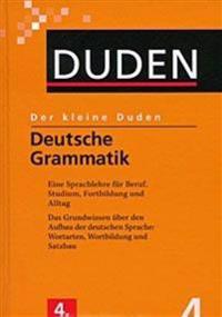 Der kleine Duden - Deutsche Grammatik