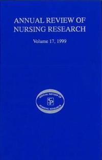 Annual Review of Nursing Research 1999