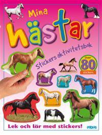Stickers aktivitetsbok, mina hästar