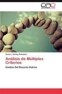 Analisis de Multiples Criterios