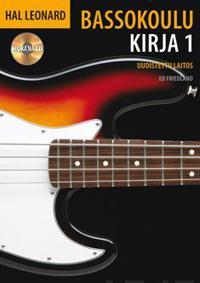 Hal Leonard bassokoulu 1 (+cd)