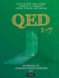 QED 1-7; matematikk for grunnskolelærerutdanningen; bind 1