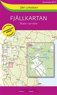 Z60 Lofsdalen Fjällkartan : 1:50000
