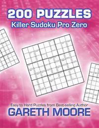 Killer Sudoku Pro Zero: 200 Puzzles