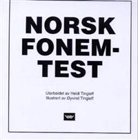 Norsk fonemtest - Heidi Tingleff pdf epub