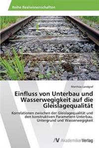 Einfluss Von Unterbau Und Wasserwegigkeit Auf Die Gleislagequalitat