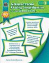 Nonfiction Reading Comprehension for the Common Core Grd 3