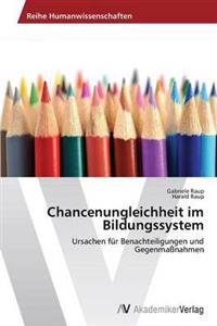 Chancenungleichheit Im Bildungssystem