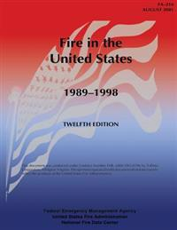 Fire in the United States, 1989-1998: Fa-216