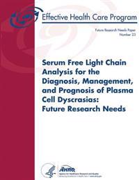 Serum Free Light Chain Analysis for the Diagnosis, Management, and Prognosis of Plasma Cell Dyscrasias: Future Research Needs: Future Research Needs P