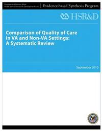 Comparison of Quality of Care in Va and Non-Va Settings: A Systematic Review