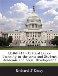 Ed466 413 - Critical Links