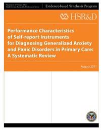 Performance Characteristics of Self-Report Instruments for Diagnosing Generalized Anxiety and Panic Disorders in Primary Care: A Systematic Review