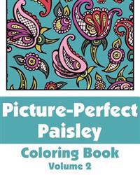 Picture-Perfect Paisley Coloring Book (Volume 2)