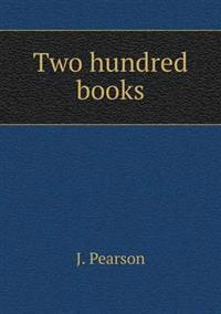 Two Hundred Books