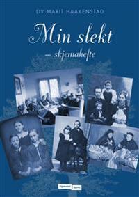 Min slekt; skjemahefte - Liv Marit Haakenstad pdf epub