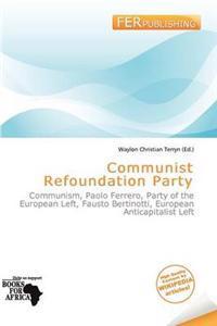 Communist Refoundation Party