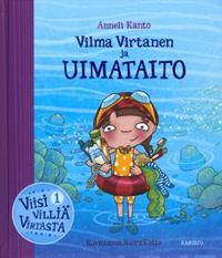 Vilma Virtanen ja uimataito