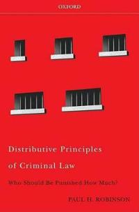 Distributive Principles of Criminal Law