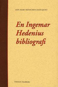 En Ingemar Hedenius bibliografi