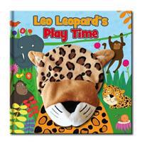 Large Hand Puppet Book - Leo Leopard's Play Day