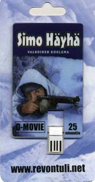 Simo Häyhä - Valkoinen kuolema (D-movie, muistikortti)
