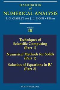 Techniques of Scientific Computing (Part 1) - Solution of Equations in R<sup>n</sup>