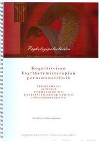 Kognitiivisen käyttäytymisterapian perusmenetelmiä