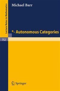 *- Autonomous Categories