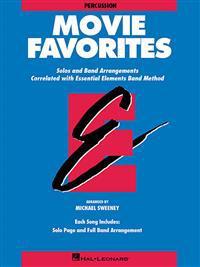 Essential Elements Movie Favorites: Percussion