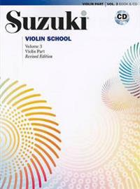 Suzuki Violin School, Volume 3: Violin Part [With CD (Audio)]