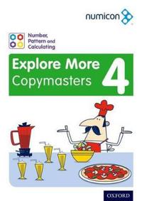 Numicon: Number, Pattern and Calculating 4 Explore More Copymasters