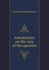 Annotations on the Acts of the Apostles