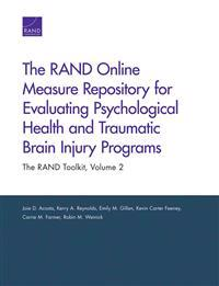 The Rand Online Measure Repository for Evaluating Psychological Health and Traumatic Brain Injury Programs