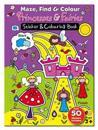 Maze Find and Colour Book - PrincessFairies