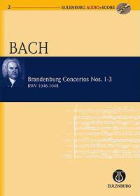 Brandenburg Concertos 1-3 BWV 1046/1047/1048