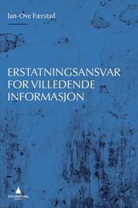 Erstatningsansvar for villedende informasjon - Jan-Ove Færstad | Inprintwriters.org
