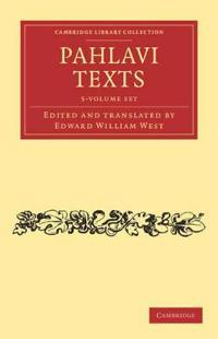 Pahlavi Texts 5 Vol Set