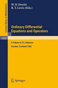 Ordinary Differential Equations and Operators