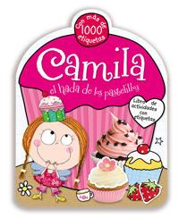 Camila, Libro de Actividades Con Etiquetas
