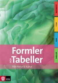 Formler och Tabeller, 2a uppl
