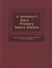 A mechanic's diary